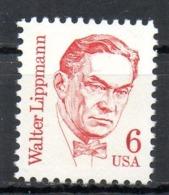 USA. N°1593 De 1985. Journaliste Lippmann. - Vereinigte Staaten