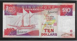 Singapour - 10 Dollars - Pick N°20 - SUP - Singapore