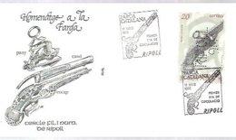 MATASELL0S  1990   OJO SELLO TALADRADO CON RIPOLL 90 - 1931-Hoy: 2ª República - ... Juan Carlos I