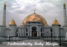 1 AK Turkmenistan * Turkmenbashi Ruhy Moschee Im Ort Gypjak * - Turkmenistan