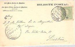 BILHETE POSTAL 1903 AVEIRO - Lettres & Documents