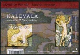 2004 Finland Nordic Mythology M Bl 33 Mnh - Finland