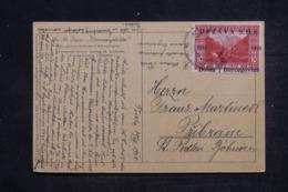 BOSNIE - HERZEGOVINE - Affranchissement Plaisant Sur Carte Postale En 1918 - L 45203 - Bosnie-Herzegovine