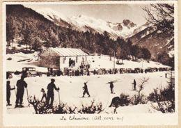 X06358 LA COLMIANE BOLLINE-VALDEBLORE (06) Baraquement Départ Altitude 1042 Mètres Automobiles 1930s MAR Nice 614 - Autres Communes
