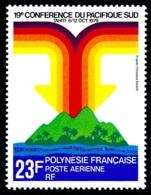 POLYNESIE 1979 - Yv. PA 147 **   Cote= 3,00 EUR - Conférence Du Pacifique-Sud  ..Réf.POL24430 - Poste Aérienne