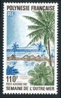 POLYNESIE 1982 - Yv. PA 169 **   Faciale= 0,92 EUR - Semaine De L'Outre-Mer  ..Réf.POL24442 - Poste Aérienne