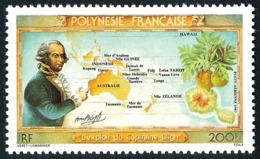 POLYNESIE 1983 - Yv. PA 175 **   Faciale= 1,68 EUR - Exploit Du Capitaine William Blight  ..Réf.POL24445 - Poste Aérienne