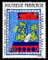 POLYNESIE 1980 - Yv. PA 153 **   Cote= 11,50 EUR - Tableau De Matisse  ..Réf.POL24432 - Poste Aérienne