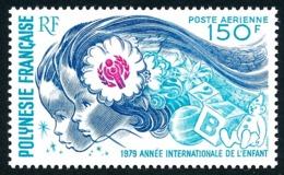 POLYNESIE 1979 - Yv. PA 145 **   Cote= 12,50 EUR - Année Internationale De L'enfant  ..Réf.POL24428 - Poste Aérienne