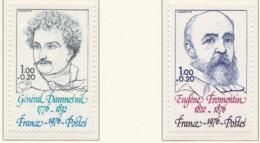 PIA - FRANCIA  - 1976 : Personaggi Celebri - Sovrattassa A Favore Della Croce Rossa - (Yv 1896-98) - Primo Soccorso