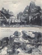 BRENTA 1908 - 2 POSTCARDS - Trento