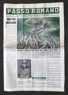 Giornale Ventennio WWII - Passo Romano N. 2 - Novembre 1939 - Libri, Riviste, Fumetti