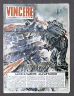 Giornale Ventennio WWII - Passo Romano Vincere N. 12 - Aprile 1942 - Libri, Riviste, Fumetti