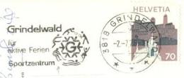 5269  Hockey Sur Glace: Flamme Suisse, 1976 - Ice Hockey, Tennis On Slogan Cancel From Grindelwald, Switzerland - Eishockey