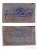 Plaques D'imprimerie Couvrant Un èvènement Ou Une Course Avec La Participation D'une BUICK N° 5 Model  1925 - Automobile - F1