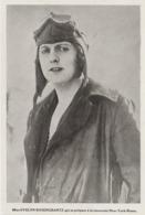 . PHOTO DE PRESSE  18  Cm X 13  Cm     Miss Evelyn ROSENGRANTZ  Qui Se Prépare à La Traversée New-York-Rome - 1919-1938: Entre Guerres