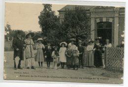 27 ST SAINT VICTOR De CHRETIENVILLE  Amicale Sortie Du Cortege De La Rosiere Cliché G Hebert 1910  D18 2019 - France