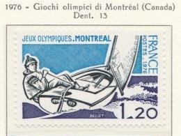 PIA - FRANCIA - 1976 : Giochi Olimpici Di Montréal  - (Yv 1889) - Vela