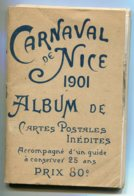 06 NICE 14 Cartes Carnaval 1901 Avec Couverture Désolidarisée   D18 2019 - Carnival