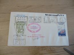 Lettre TAAF Saint Paul Et Amsterdam 986 Autographes - Brieven En Documenten