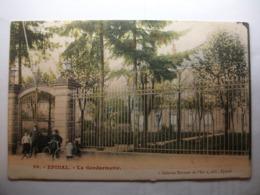 Carte Postale Epinal (88) La Gendarmerie (Petit Format Couleur Non Circulée ) - Epinal