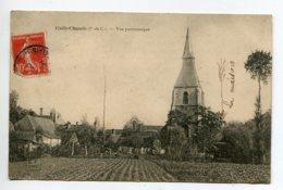 62 VIEILLE CHAPELLE Jardins Et Maisons Quartier Eglise  écrite Timb 1908  D18 2019 - Francia
