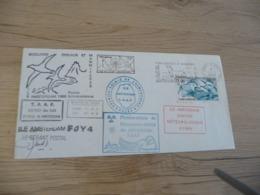 Lettre TAAF Saint Paul Et Amsterdam 1986 Autographes - Terres Australes Et Antarctiques Françaises (TAAF)