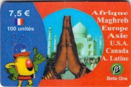 Carte Prépayée - BETA ONE - 7.50 € - Andere Voorafbetaalde Kaarten