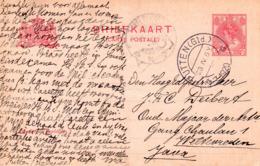 23.IV .1920  Kortebalk PUTTEN (Gld.) Op Bk Naar Weltevreden Java - Marcophilie