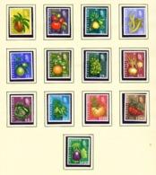 MONTSERRAT - 1965 Definitives Set Unmounted/Never Hinged Mint - Montserrat