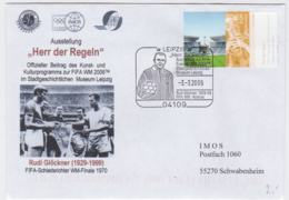 Germany Cover 2006 FIFA World Cup Football In Germany  Herr Der Regeln - Posted Leipzig 2006 Herr Der - 2006 – Germany