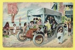 * Fantaisie - Fantasy (Bébés Multiples - Baby) * (série 363) Enfant, Auto, Oldtimer Car, Voiture, Child, Hotel, Chien - Bebes
