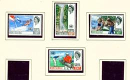 MONTSERRAT - 1967 Tourist Year Set Unmounted/Never Hinged Mint - Montserrat
