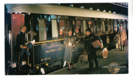 TRAIN . ORIENT-EXPRESS . VENICE SIMPLON - Réf. N°455F - - Trains