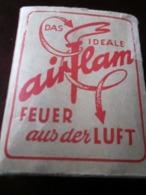 ANCIEN BRIQUET - LIGHTER  -A UTILISER EN AVIATION - AIRFLAM Fabriqué En Allemagne FEU DE L'AIR - COMPLET- JAMAIS UTILISÉ - Unclassified