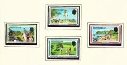 MONTSERRAT - 1970 Tourism Set Unmounted/Never Hinged Mint - Montserrat