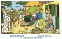 Humoristique - Illustrateur - B. Rabier - Service De Santé - Rentrée D'Orient - Quinine Et Moustiquaire - D 0101 - Rabier, B.