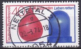 FRG/1974 - Mi 797 - 40 Pf - USED/'NETTETAL 2' - [7] República Federal