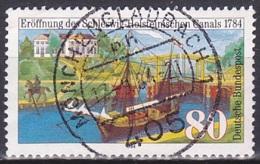 FRG/1984 - Mi 1223 - 80 Pf - USED/'MÖNCHENGLADBACH 1' - [7] República Federal