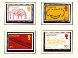 MONTSERRAT - 1975 Carib Artifacts Set Unmounted/Never Hinged Mint - Montserrat
