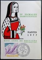 Carte IVe FLORALIES Internationales NANTES 1977 - Autres