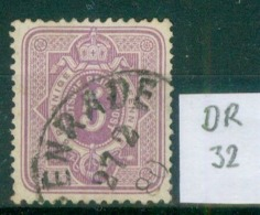 DR 1875  MiNr. 32     O / Used  (L790) - Germany