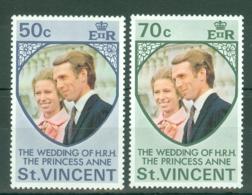 St Vincent: 1973   Royal Wedding   MNH - St.Vincent (...-1979)