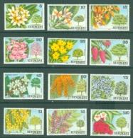 St Vincent: 1984   Flowering Trees And Shrubs Set (incl. 'SPECIMEN)   SG764-775    MH - St.Vincent (...-1979)