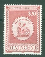 St Vincent: 1984   Postal Fiscal    SG F9    $20      MH - St.Vincent (...-1979)