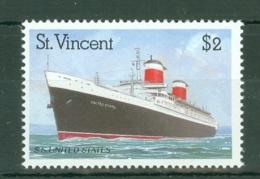 St Vincent: 1989   Ocean Liners    SG1226    $2      MNH - St.Vincent (...-1979)