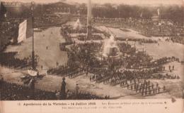 Guerre 1914 1918 Apotheose De La Victoire Juillet 1919 Place De La Concorde Les Ecossais Defilent - War 1914-18