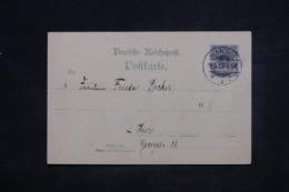 ALLEMAGNE - Affranchissement De Hannover Sur Carte Postale En 1900 - L 45221 - Germany