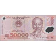 TWN - VIETNAM 121l - 50000 50.000 Đồng 2017 Polymer - Prefix YG UNC - Vietnam