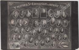 Kaunas. Lenkų Gimnazijos Vinjete, 1930 M. Foto - Lituanie